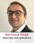 Bertrand Maes Directeur des opérations VIDELIO