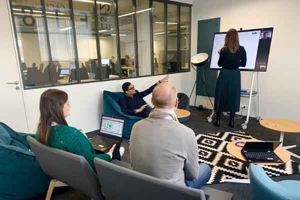 salles collaboratives réunions