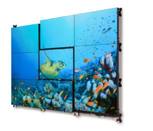 VIDELIO x Barco Mur d'images LCD Barco Unisee