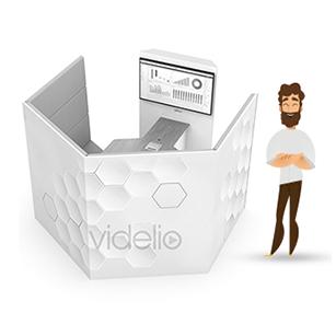 Collab'Packs by VIDELIO : l'offre Interact'Room Partage écran. Salle informelle partager sans fil mon écran