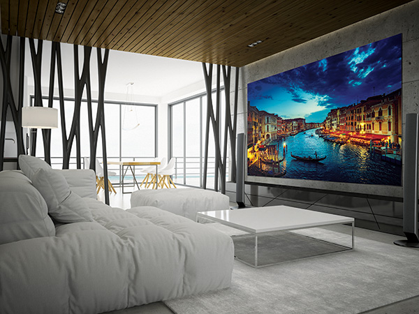 VIDELIO x Samsung la technologie MicroLED dans une chambre