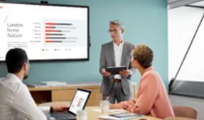 VIDELIO x ViewSonic My Display partage d'écran sans fil salle de réunion