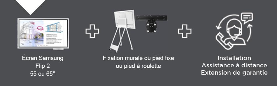 VIDELIO x Samsung présentation des éléments composant le Pack Creativ'Room