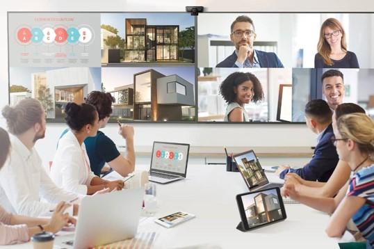 VIDELIO x ViewSonic écran de présentation sans fil gamme CDE20