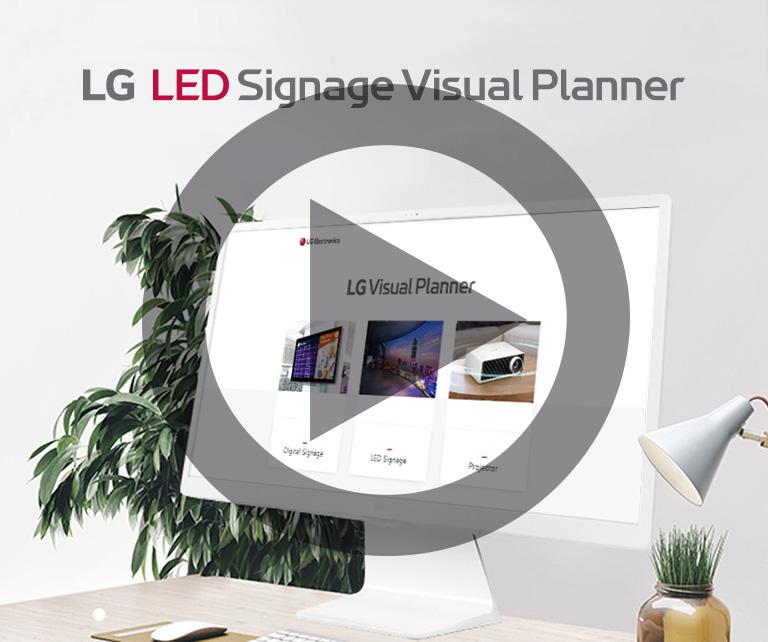 Partenaires VIDELIO x LG Signage Visual Planner