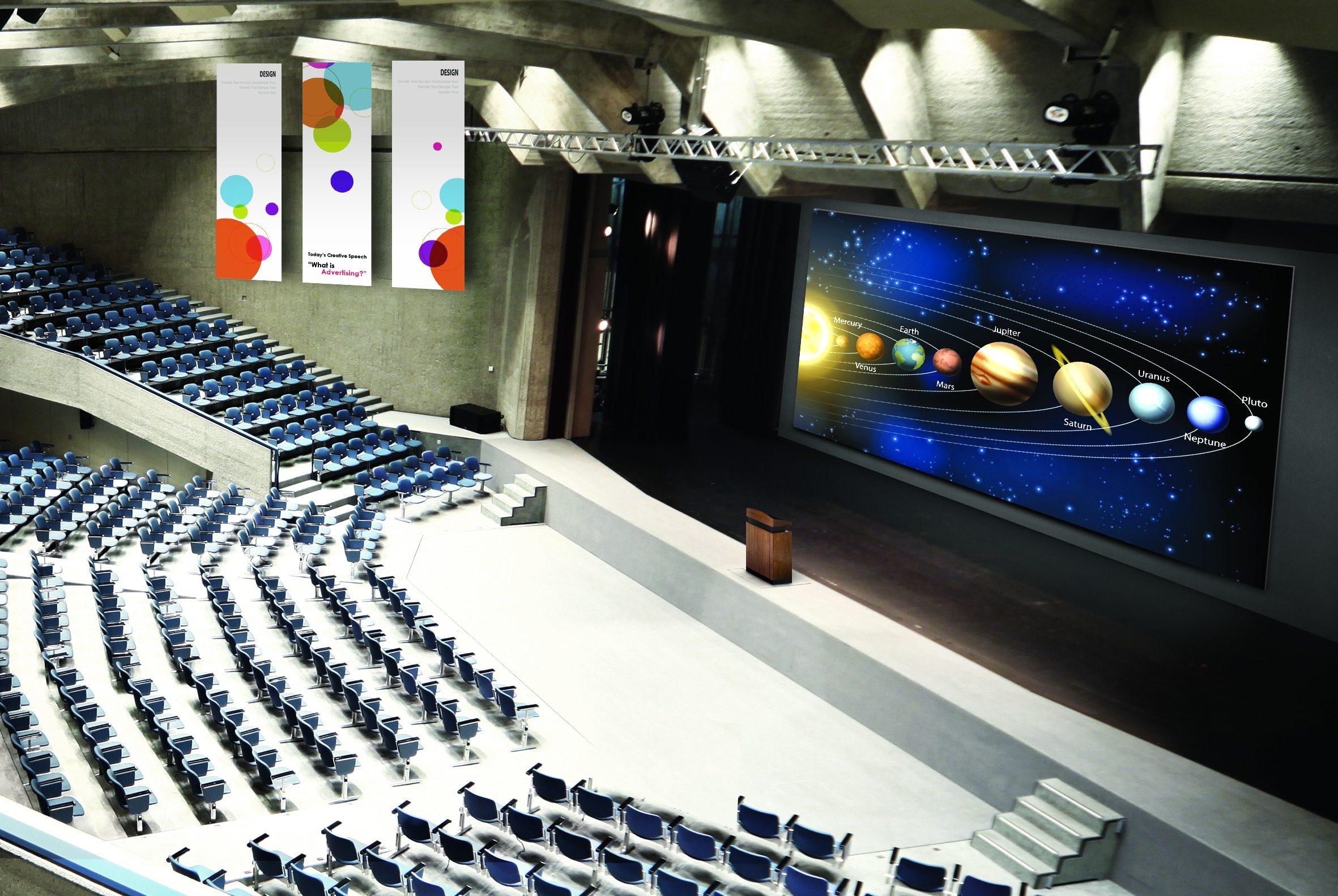 Partenaires VIDELIO x LG écran LED grands espaces Magnit 36 modules