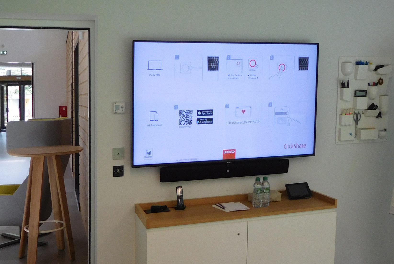 VIDELIO x LG Success story écrans dans salles de formation