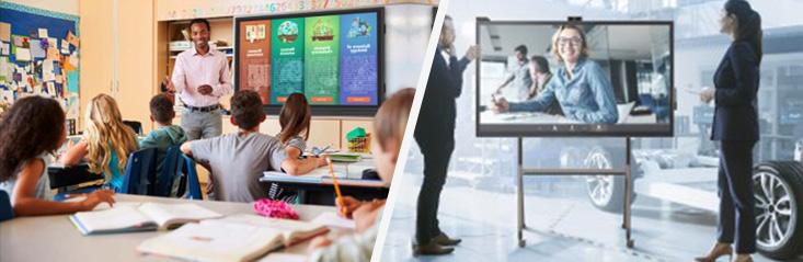 VIDELIO x ViewSonic écran interactif et tactile séries IFP