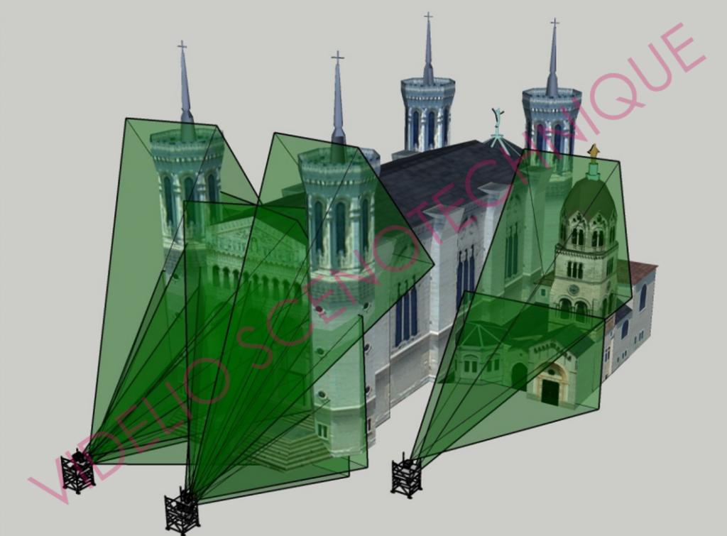 Projection architecturale Videlio