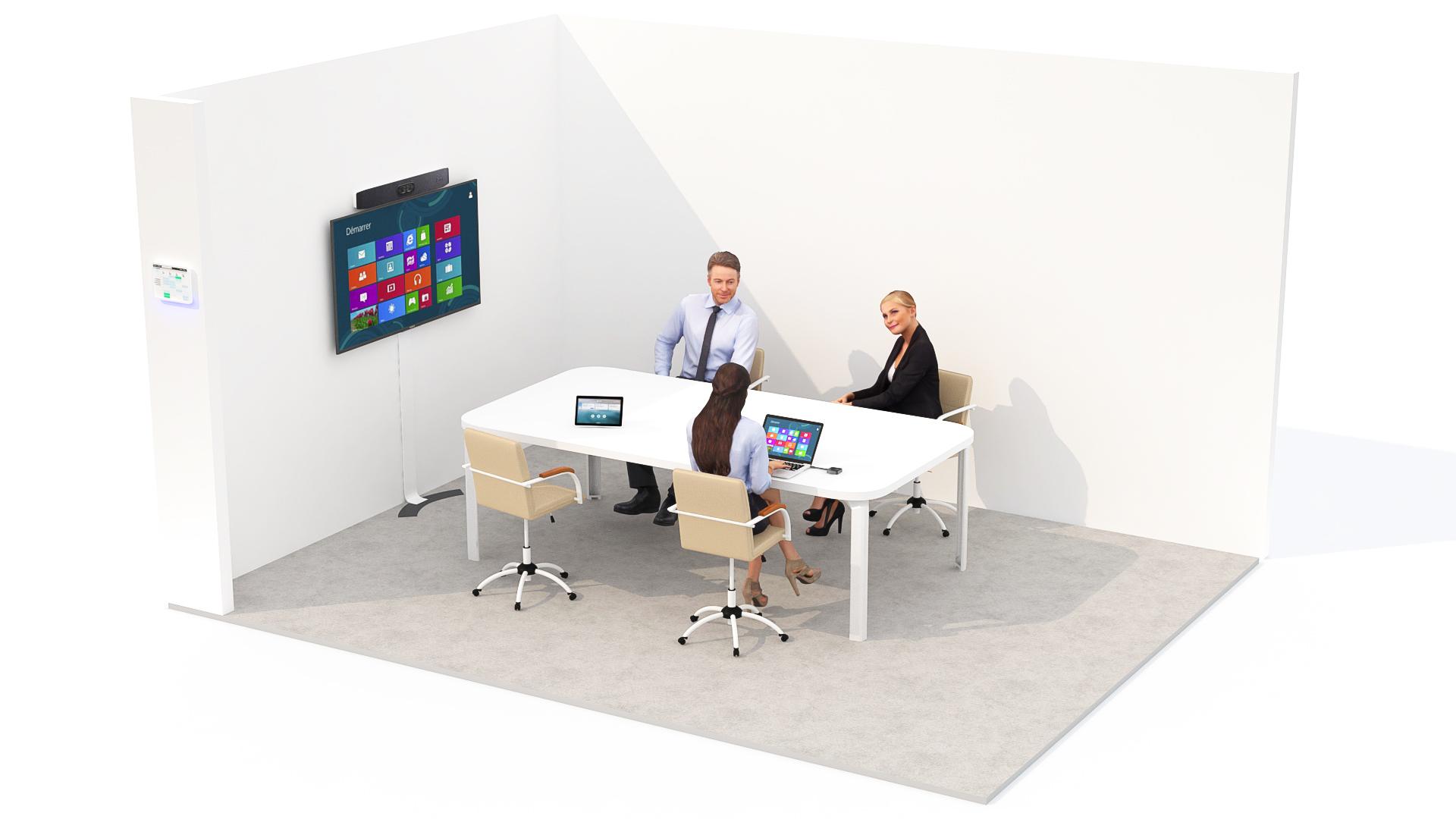salle de réunion interopérable
