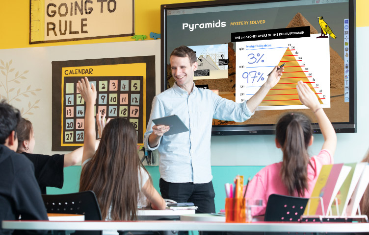 équipements numériques pour salles de classe Videlio