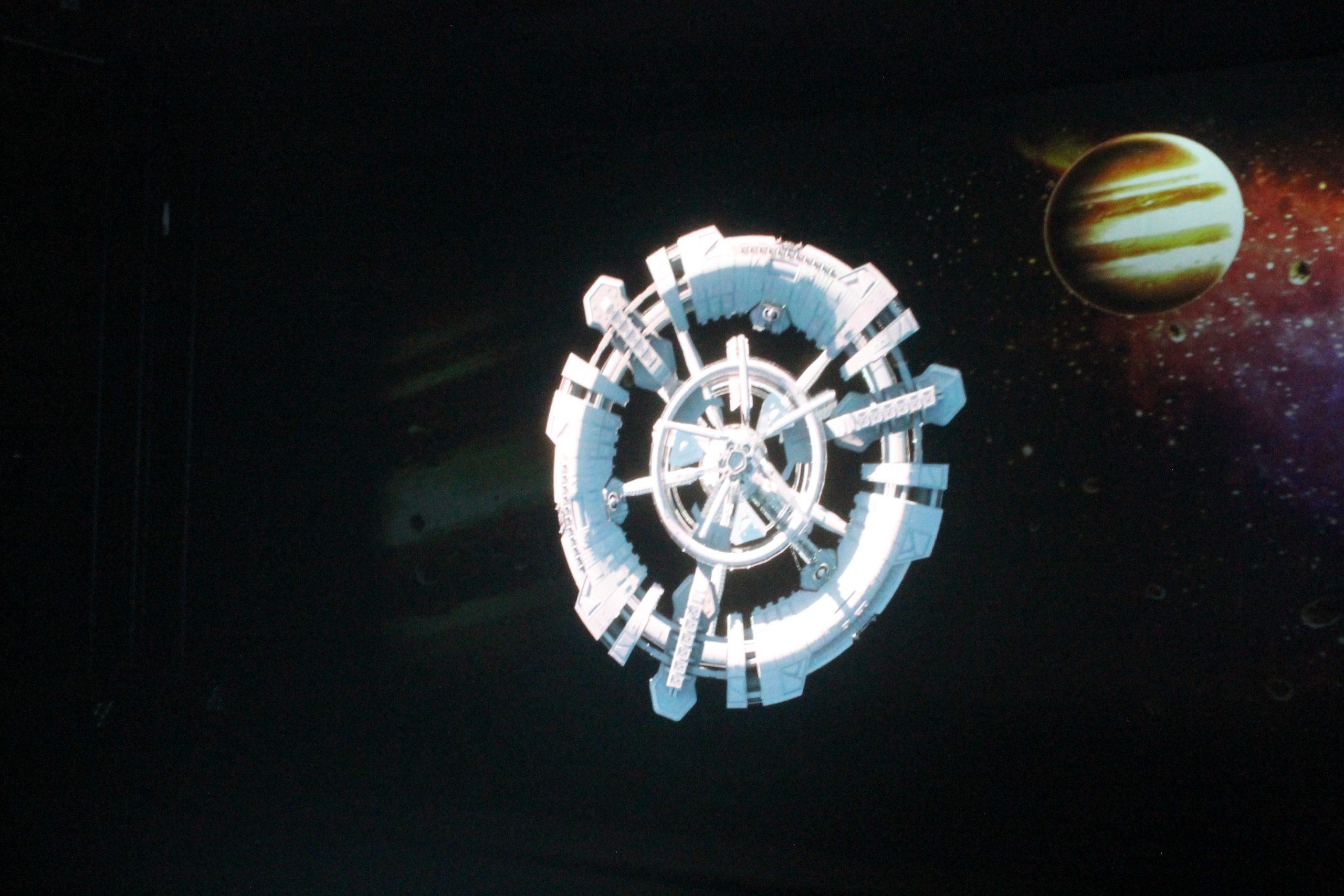 projection holographique
